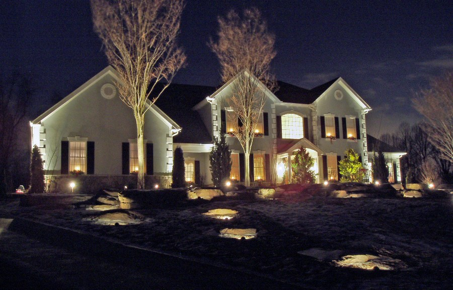 Outdoor led accent lighting lighting ideas Exterior accent lighting for home