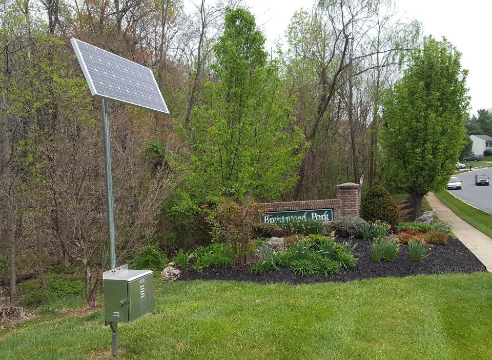solar powered landscape lighting