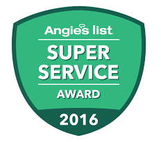 Chesapeake Irrigation earns 2016 Super Service Award badge from Angie's List