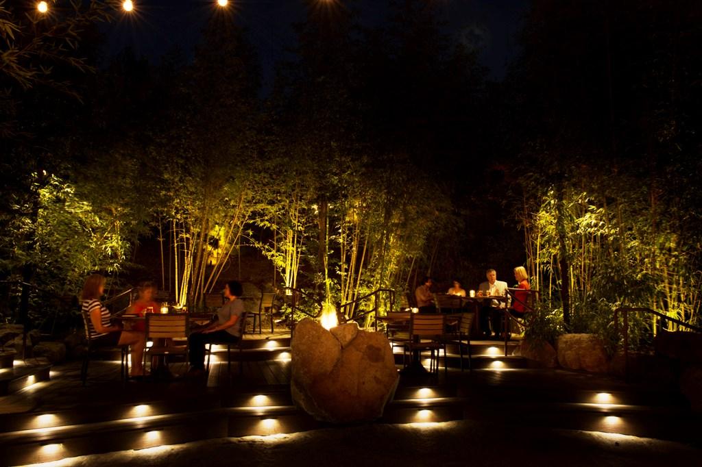 Commercial Lighting - restaurant image