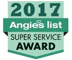 Chesapeake Irrigation & Lighting, Inc. Earns Esteemed 2017 Angie's List Super Service Award