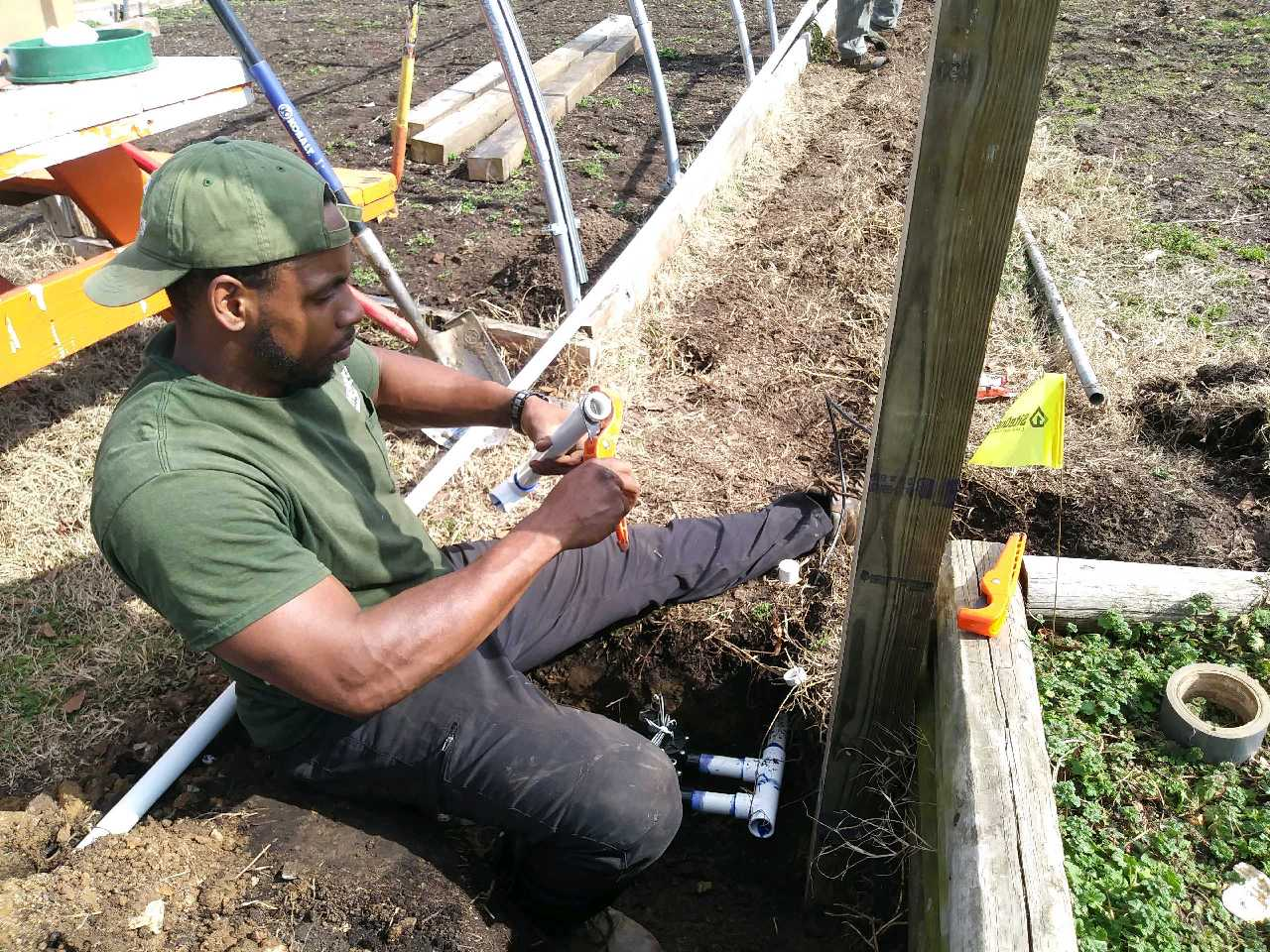 Oliver Community Farm: Irrigation on the Front Lines